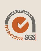 Certificato UNI EN ISO 9001:2008 per la gestione del sistema di qualità