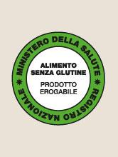 Autorizzazione ministeriale 604/0F.508/7671 del 02/07/2007 alla produzione e al confezionamento dei prodotti senza glutine.