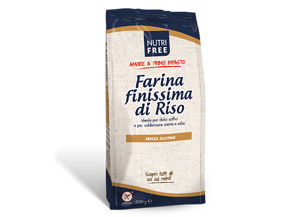Farina di riso finissima - senza glutine