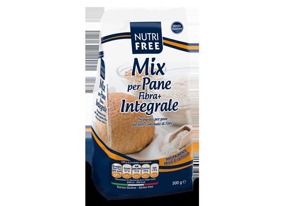 Mix per pane fibra integrale - Senza glutine