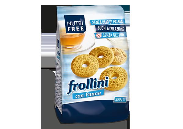 Frollini con panna - senza glutine