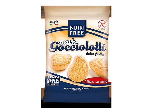 Snack Gocciolotti dolce frolla