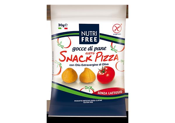 Gocce di pane gusto Snack Pizza - Senza glutine