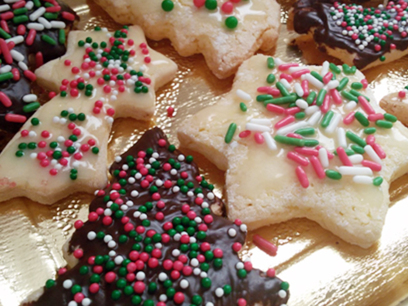 Dolci Natalizi Per Celiaci.Biscotti Natalizi Senza Glutine E Senza Lattosio I Nutrifree