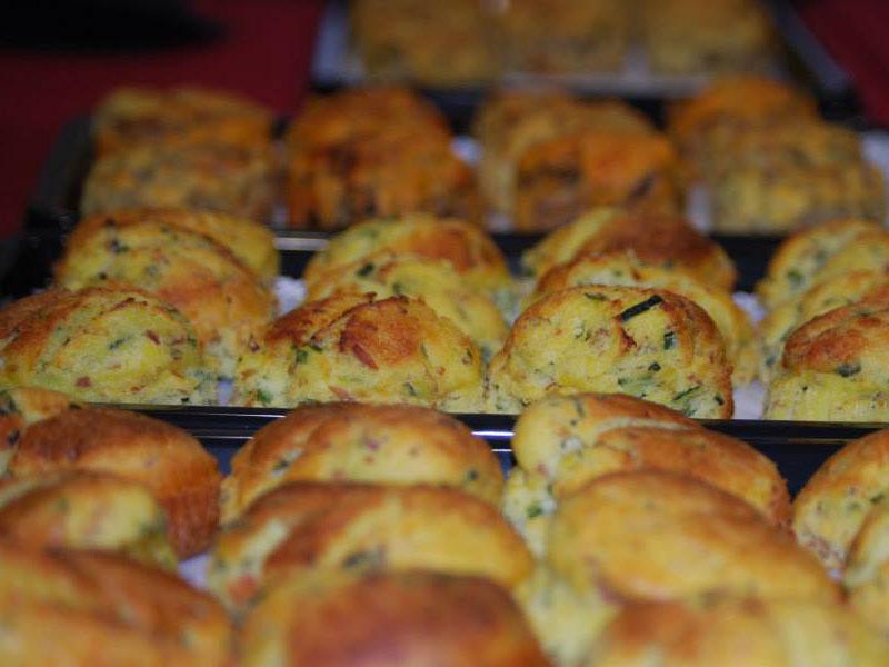 Muffin di Melanzane Senza Glutine