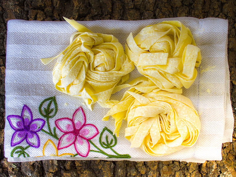 Tagliatelle fresche senza glutine