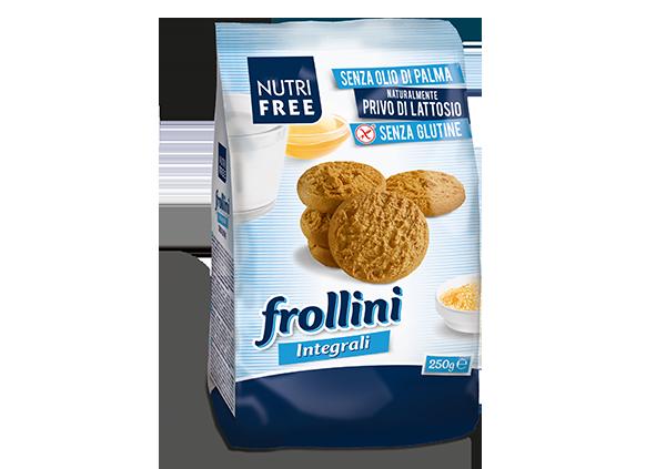 Frollini integrali - senza glutine