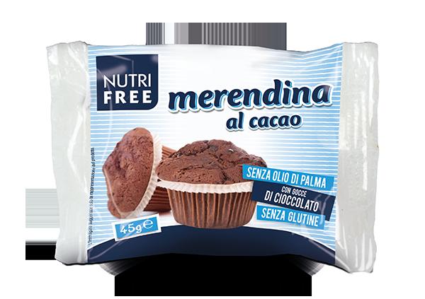 Merendina al cacao - senza glutine