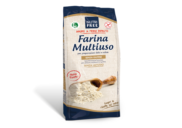 Farina Multiuso Nutrifree I Farine e Mix senza glutine