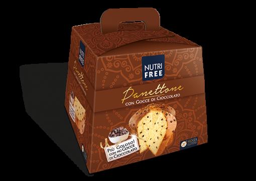 Panettone con gocce di cioccolato - senza glutine