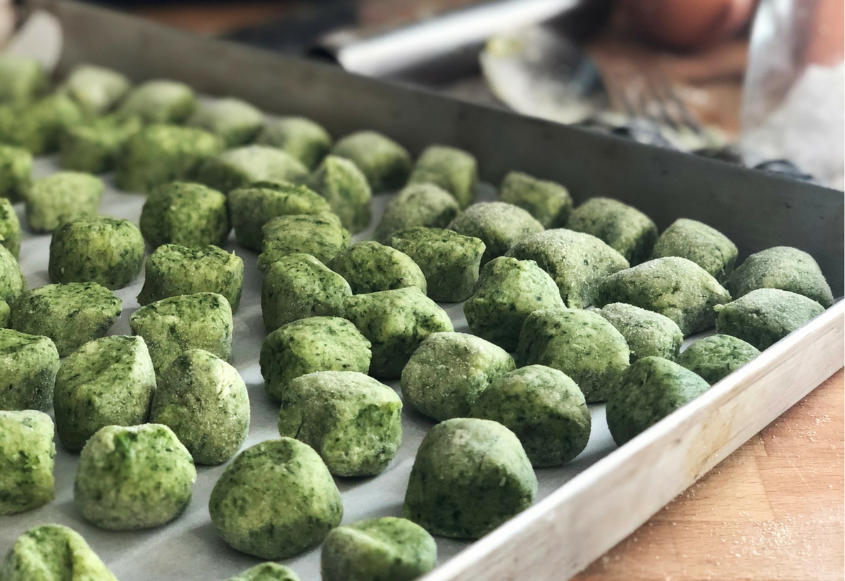 Ricetta Gnocchi Spinaci Con.Gnocchi Verdi Agli Spinaci Senza Glutine Nutrifree