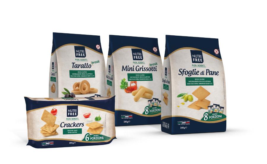 Snack salati e sostituti del pane